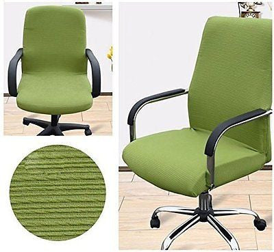 Shihualine(TM) Office Slipcovers Cloth Chair pads Removable Cover stretch