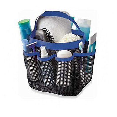 DearyHome Quick Dry Shower Tote 8-Pocket Toiletry Organizer Mesh Bath Shower