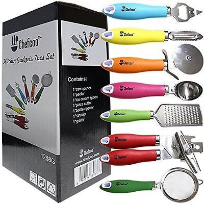 Kitchen Gadgets tools Set Stainless-Steel kitchen Utensils Chef Cooking Set