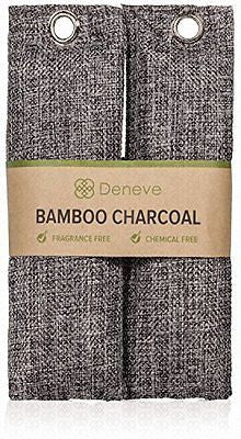 Natural Bamboo Charcoal Bags - Best Top Air Purifying Bag Shoe Deodorizer