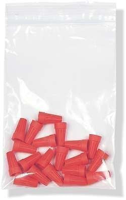 4 Mil Clear Zip Lock Bags 2.5 x 3 Inches 5 Packs of 100