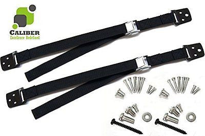 Exquisite Quality TV and Furniture Anti-Tip Straps - by Caliber - Heavy-Duty Wo