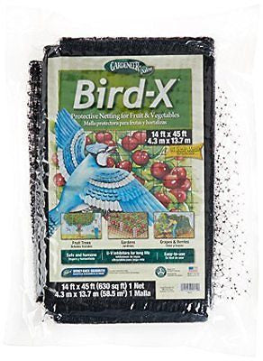 Dalen BN4 Bird-X Net with 5/8-Inch Mesh, 14 ft x 45 ft