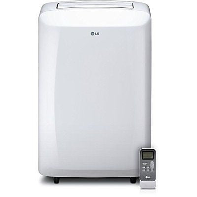 LG 10000 BTU 115V Portable Air Conditioner with Remote Control White