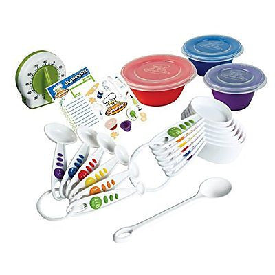 Curious Chef 17-Piece Measure & Prep Kit