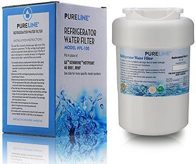 Premium Replacement Refrigerator Water Filter By Pure Line Model PL-100