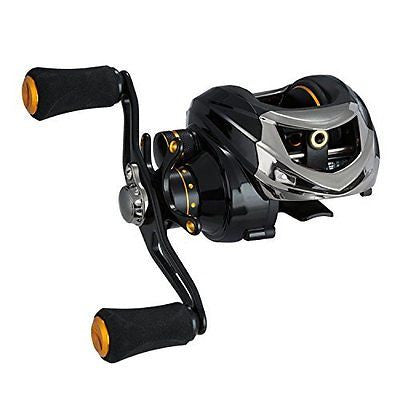 Tuned Magnetic Brake System Low Profile Baitcaster Baitcasting Fishing Reel