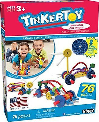 TINKERTOY Wild Wheels Building Set