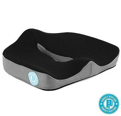 *NEW MODEL* Memory Foam Seat Cushion: Brand New Design for More Comfort
