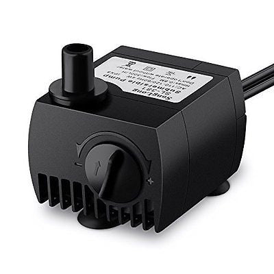 Habor 80GPH Submersible Pump Water Pump for Fish Tank, Fountains, Ponds