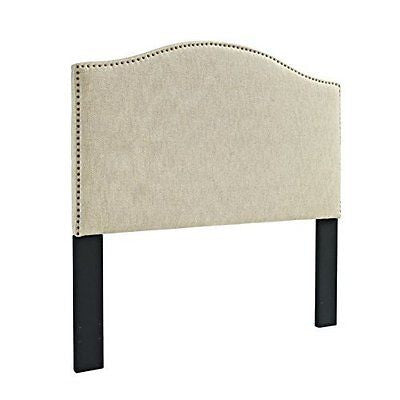 Pulaski Selma Panel Linen Headboard King