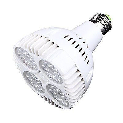 Igoeshopping 35W-E27 Par30 Led Bulb,Daylight White 6000k, 24pcs Led Lights