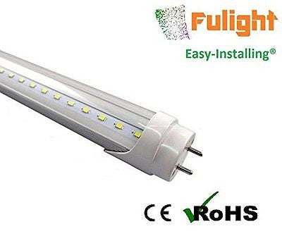 "Fulight? Easy-Installing & Clear ¡è T8 LED Tube Light - 2FT 24"" 10W (18W Equival"
