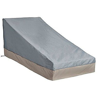 VonHaus Chaise Lounge Cover - 'The Storm Collection' Premium Heavy Duty