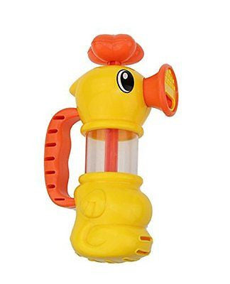 Cikoo Water Pistol Spray Pump Duck ABS Children Kids Baby Swimming Pool Bathtub