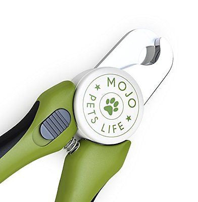 MoJo's Dog Nail Clippers & Trimmers, With Safety Guard to Avoid Overcutting