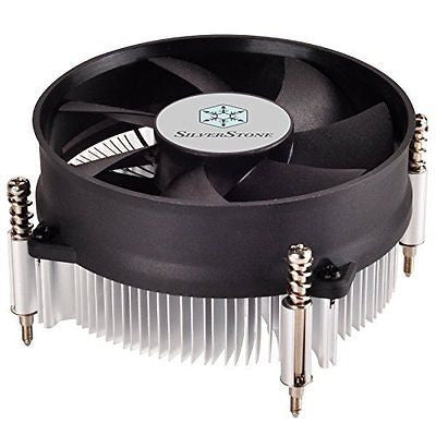 SilverStone Technology Nitrogen Series Low Profile CPU Cooler RL-NT09-115X