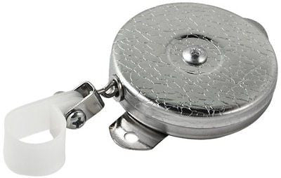 KEY-BAK Reel Stainless Steel Chain Steel Bracket Mount Back