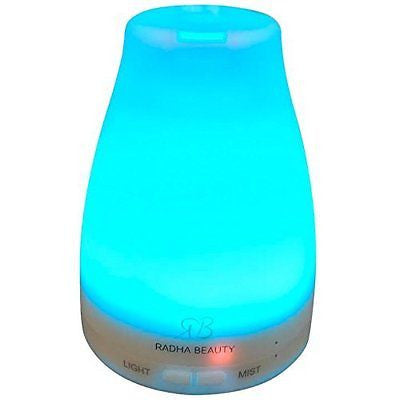 Aromatherapy Essential Oil Diffuser 7 colors - 120 ml Portable Ultrasonic Cool