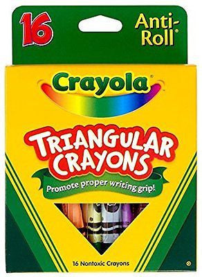 Crayola 16ct Triangular Crayons