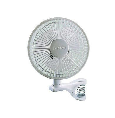 Lasko 2004W 2-Speed Clip Fan 6-Inch White
