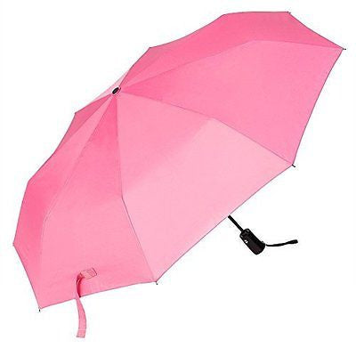 Travel Umbrella, Oak Leaf Automatic Compact Umbrella Foldable Rain Umbrella