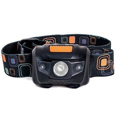 LED Headlamp Great for Camping Hiking Dog Walking and Kids. One of the Lightest