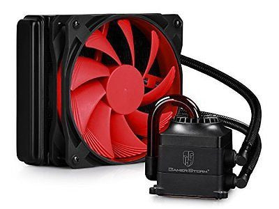 DEEPCOOL CAPTAIN120 CPU Liquid Cooler 120mm Radiator Quiet Fan Transparent Tube