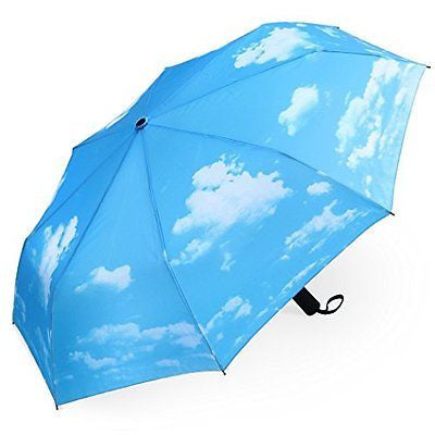Plemo Compact Travel Stylish Design Auto Open and Close Umbrella