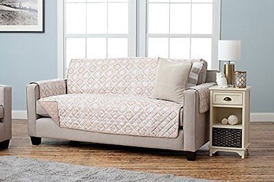 Adalyn Collection Deluxe Reversible Quilted Furniture Protector. Beautiful
