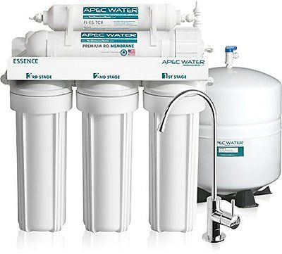 Ultra Safe Premium 5-Stage Reverse Osmosis Drinking Water Filter System