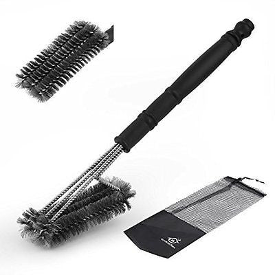 GreKitchen Barbecue Grill Brush Stainless Steel Grill Brush BBQ Grill Cleaner