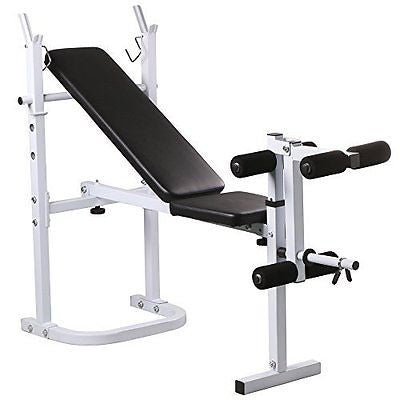 Yaheetech Dumbell Adjustable Weight Bench 440Lb, 4 Position