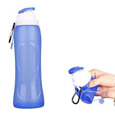 Collapsible Water Bottle Foldable Sports Bottle Leak Proof