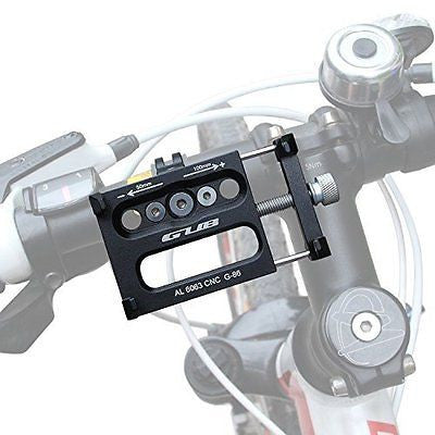 Alloy Bicycle Phone Mount, GVDV Universal Adjustable Bike Mount Cell Phone GPS M
