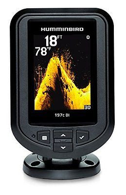 Humminbird 409690-1 PiranhaMax 197C DI Color Fish Finder with Down-Imaging