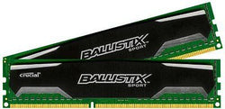 Ballistix Sport 8GB Kit (4GBx2) DDR3 1600 MT/s (PC3-12800) CL9 @1.5V UDIMM