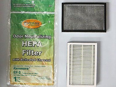 Envirocare Kenmore Mircrofiltration Canister Vacuum Bags with Filter