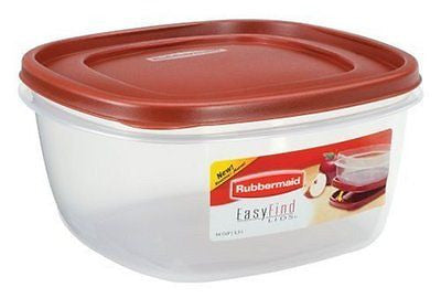 Easy Find Lid Food Storage Container BPA-Free Plastic 14 Cup