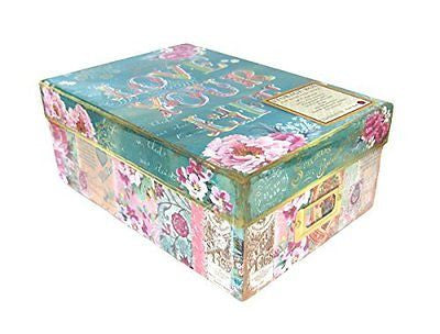 Lovely Letters Photo Storage Box