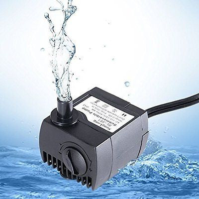 Uniclife 40-210 GPH Submersible Water Pump Aquarium Fish Tank Powerhead