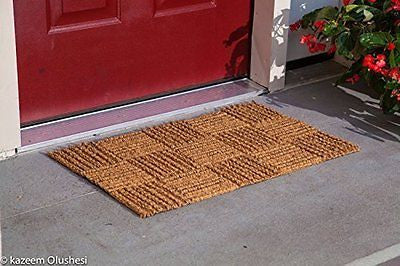 Kempf Coco Rug Low Clearance Doormat, 24 by 39 by 0.25-Inch