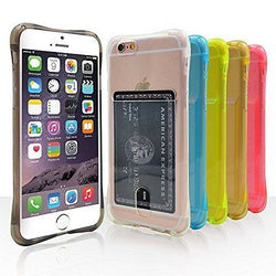 Costyle 6pcs/lot 6 Colors Slim Thin Transparent Clear Soft TPU Silicone Gel