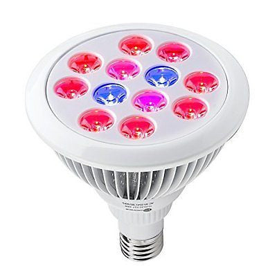 TaoTronics 24w Led Grow light Bulb  Miracle Grow Plant Light for Hydropoics