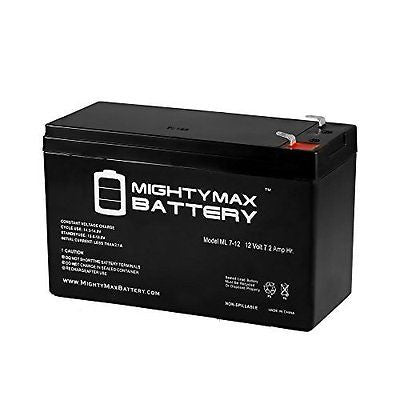 12V 7.2AH SLA Battery for Humminbird Fishfinder 570 - Mighty Max Battery brand