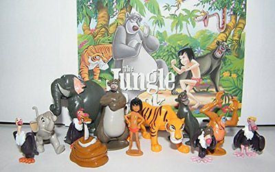 Disney The Jungle Book Deluxe Party Favors Goody Bag Fillers Set of 13 Figures