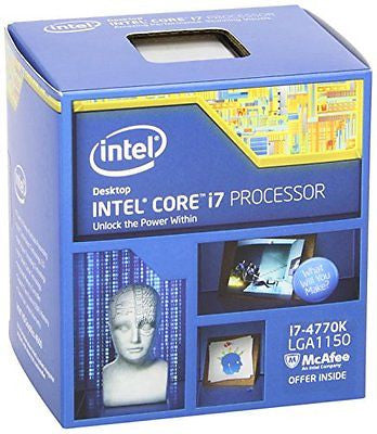 Intel Core i7-4770K Quad-Core Desktop Processor