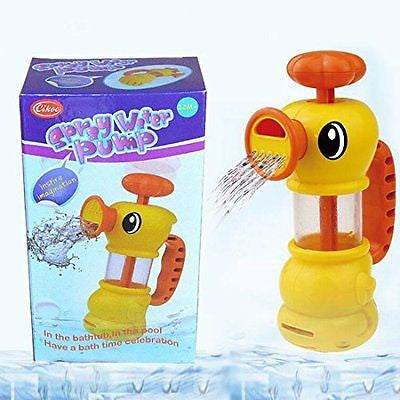 Lanpet Cikoo ABS Toy for Kids Water Pistol Spray Pump Duck Swimming Pool