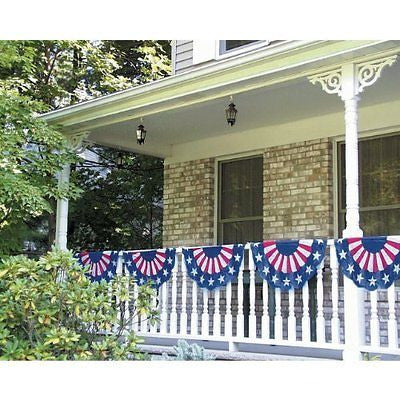Amscan Stars Stripes Fourth of July Party Bunting Banner Decoration Multi Color