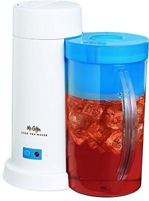 Mr. Coffee 2-Quart Iced Tea Maker, Blue